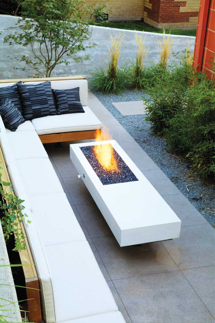 Outdoor Fireplaces Heating it up outside at home