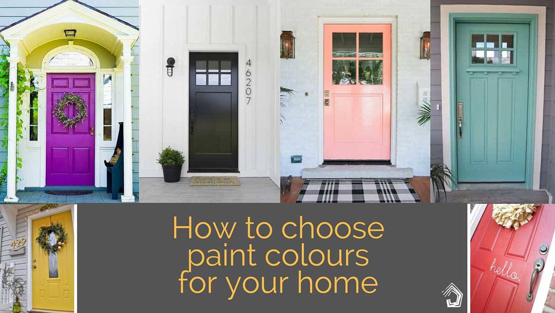 tips to get it right when choosing the external colour