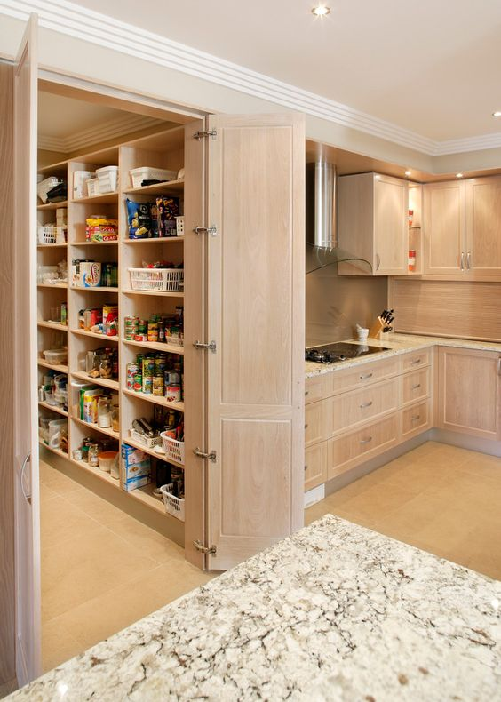 Pinterest Walk In Pantry